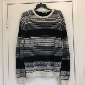 Men's Hugo Boss Fair Isle Sweater